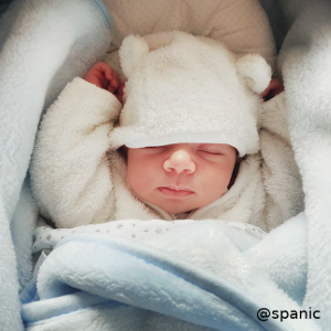 bebé con ruido blanco